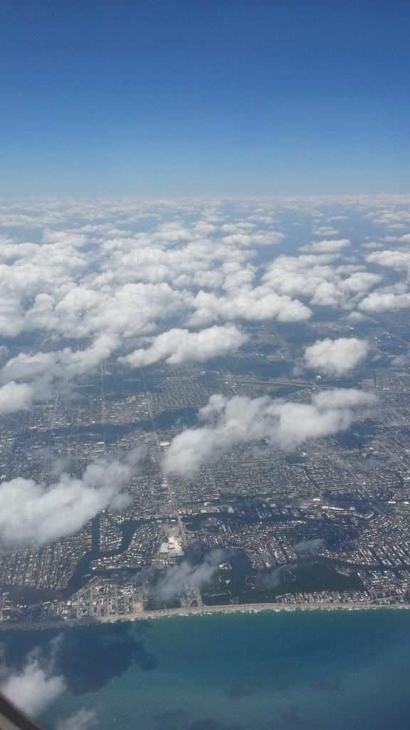 Sky above Ocean below